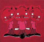 "Three Little Pigs- ""SOLD"""